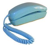 TELEFONO GONDOLA CELESTE / REF: TLF- 003 / 1 Unidad / Arriendo: $ 10.000  / Garantía: $ 40.000