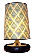 Lámpara Rombos/ REF: LAMP- 012 / 30 cms. base x  65 cms. alto / 1 unidad / Arriendo: $ 15.000 / Garantiía: $ 50.000