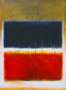 Rot Schwarz (100x140 cm)