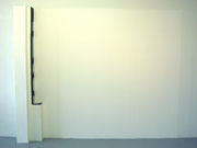 Livingroom, 2004; Watercolor on shaped paper, latex paint, wood, 8 feet x 10 feet x 10 inches