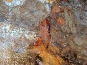 Formazione calcarea color ruggine
