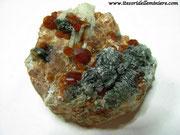 Granato e Clorite. Val d'Ala (TO)