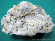 Pirrotina su Fluorite. Campiglia M.ma (LI)