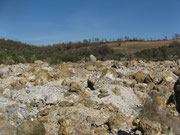 La discarica della miniera
