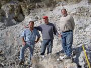 Io,Massimo e Silvio sulla vecchia solfara