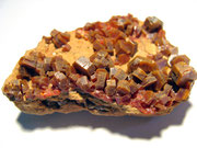 Vanadinite su matrice (Marocco)