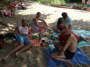 Strandleben an der Hunte.