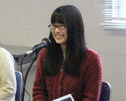 同じく安里さんの同級生。小野田 彩花(おのだ あやか)さん。今回のニューフェイスです。