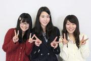 大阪府立岸和田高校2年8組のなかよし3人組が、今回、飾らない日常をカミングアウトします。