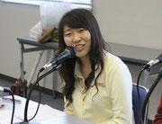 安里さんの同級生。辻 朱里(つじ あかり)さん。第74回放送をライブで見て、興味を持ち今回参加してくれました。