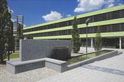 Latz+Partner: Aussenanlagen des Biomedizinischen Centrums der Ludwig-Maximilians-Universität München, Planegg