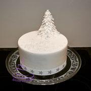 weihnachtliche Torte