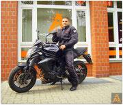 Konstantin Hecker hat seinen A2-Führerschein seit dem 12.08.15!