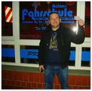 Frank Gardein hat seinen B-Führerschein seit dem 19.11.14!