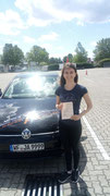 Marie Banick hat ihren B Führerschein seit dem 02.07.2019!