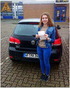 Jette Schlesinger hat ihren B-Führerschein seit dem 14.04.16!