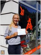 Annemarie Thiemann hat ihren B-Führerschein seit dem 02.09.15!