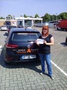 Mareike Frohbart hat ihren B Führerschein seit dem 28.05.2019