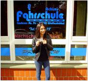 Elvita Gashi hat ihren B-Führerschein seit dem 28.04.15!