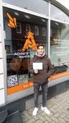 Evangelos Malakis hat seinen B Führerschein seit dem 19.10.2020!