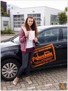 Lea Kaczmarek hat ihren B-Führerschein seit dem 31.07.15!