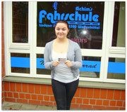 Ronja Backhaus hat ihren B-Führerschein seit dem 03.02.15!