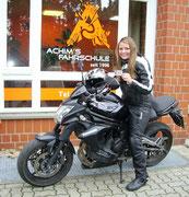Lisa Kamin hat ihren A2 Führerschein seit dem 13.10.16