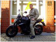 Hendrik Isensee hat seinen A2-Führerschein seit dem 06.07.15!