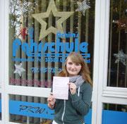 Adriane Szczepanek hat ihren B-Führerschein seit dem 16.12.13!