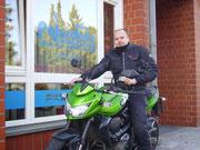 Sven Rudnik hat seinen A-Führerschein seit dem 25.11.13!