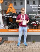 Yannik Markgarf hat seinen B Führerschein seit dem 12.10.16