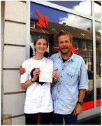 Mona Hederich hat ihren B-Führerschein seit dem 02.09.15!