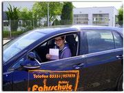 Daniel Klein hat seinen B-Führerschein seit dem 03.06.14!