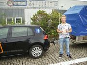 Maximilian Adam Riesland hat seinen BE-Führerschein seit dem 05.09.16!