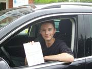Sebastian Korf hat seinen B-Führerschein seit dem 07.08.13!