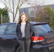 Ruth Thiemann hat ihren BE-Führerschein seit dem 27.12.13!