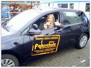 Beatrix Erber hat ihren B-Führerschein seit dem 30.01.15!