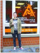 Janine Hörig hat ihren B-Führerschein seit dem 21.09.15!
