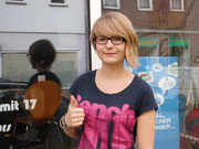 Johanna Bank hat ihren B-Führerschein seit dem 15.08.13!