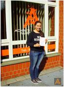 Leonie Seebauer hat ihren B-Führerschein seit dem 09.07.15!