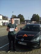 Lukas Bölsche hat seinen B Führerschein seit dem 17.09.2020!