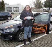 Louisa Meier hat ihren B Führerschein seit dem 10.03.2017