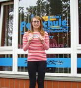 Katharina Konradi hat ihren B-Führerschein seit dem 08.01.14!