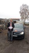 Tim Jauernig hat sein B Führerschein seit dem 09.11.2020!
