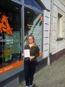 Lea Sophie Lukomski hat ihren B Führerschein seit dem 28.09.2020!