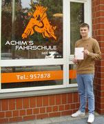 Jan Moschner hat seinen B Führerschein seit dem 05.04.2018