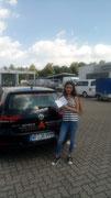 Joanna Öztas hat ihren B Führerschein seit dem 01.07.2019!