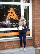 Alina Exner hat ihren B-Führerschein seit dem 10.08.16!