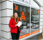 Neela Welge hat ihren B-Führerschein seit dem 20.01.16!