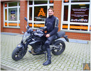Sebastian Pantke hat seinen A2-Führerschein seit dem 24.09.15!